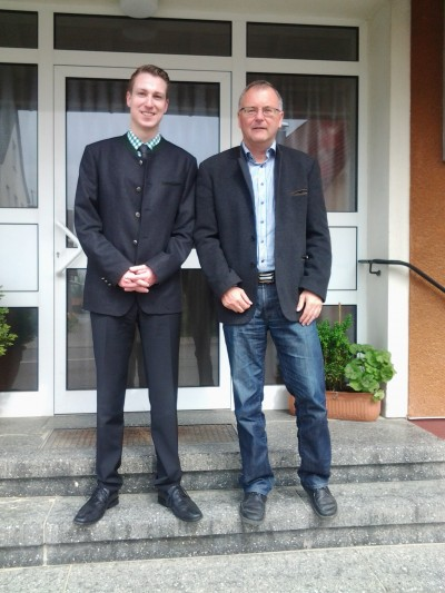 2015-05-06 Besuch bei BM Knecht