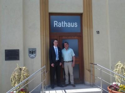 2015-07-15 Besuch bei BM Freihart